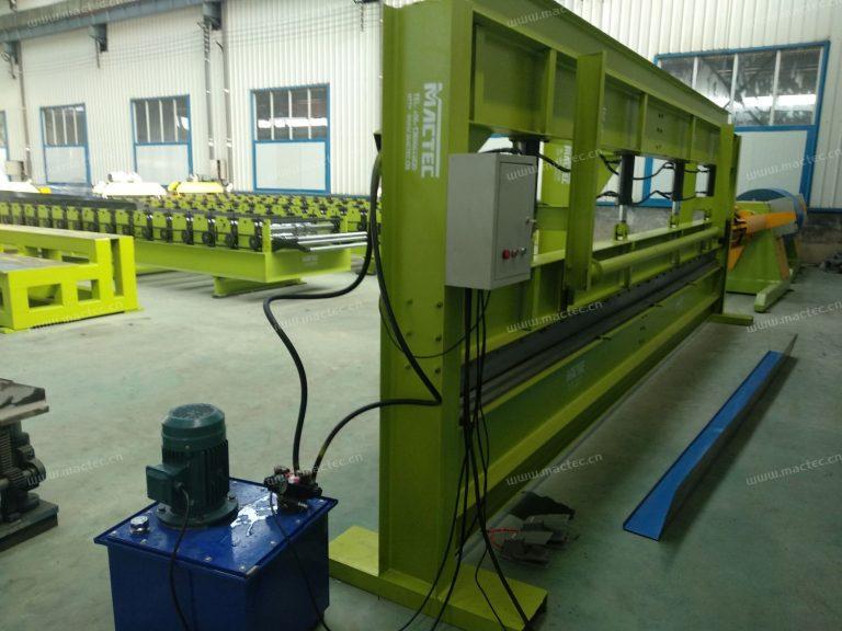 13.2.1 Hydraulic bending machine (1)
